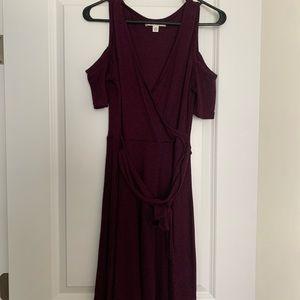 Cold shoulder dress! NOT maternity